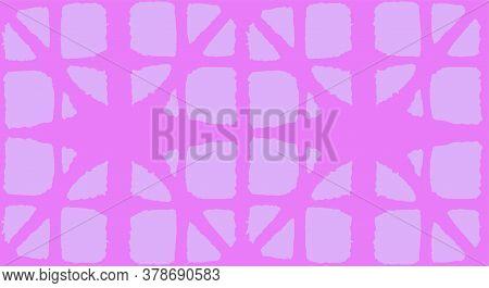 Japanese Tie Dye Seamless Pattern. Geo Curve Shape Texture Geometric Bohemian Asian Tie Dye Design.