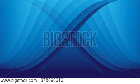Blue Polygon Background2020-20