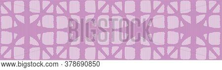 Japanese Tie Dye Seamless Pattern. Geometric Bohemian Asian Tie Dye Design. Bohemian Kimono Textile.
