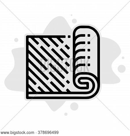 Carpet Icon Isolated On White Background From Recycling Collection. Carpet Icon Trendy And Modern Ca