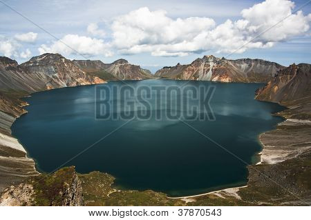 Tianchi in CHANGBAI Mountain in other version