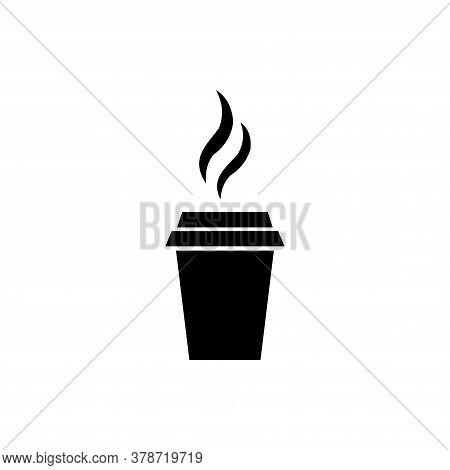 Coffe Icon Vector. Coffe Icon Isolated On White Background