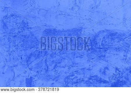 Old Concrete Wall Pattern Texture Abstract Blue Color Design For The Backdrop, Beautiful Abstract Gr