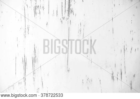 Old Rusty Metal Plates Have Been Converted Into White Backgrounds For Illustration. Old Rusted Metal