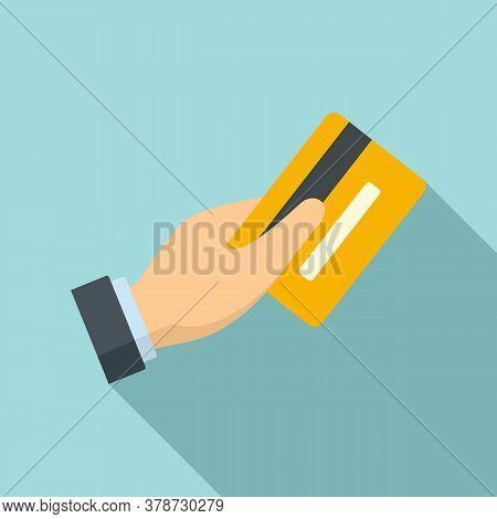 Credit Card Online Loan Icon. Flat Illustration Of Credit Card Online Loan Vector Icon For Web Desig