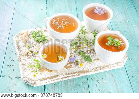 Different Herbal Tea Set