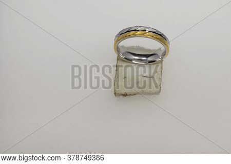 Ring Design,gold And Silver Color Polished Crystal 92.5 Sterling Silver Round Ring Design For Male A