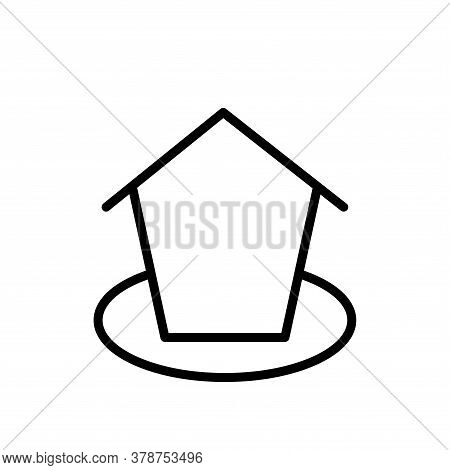 Illustration Vector Graphic Of Home Icon Template