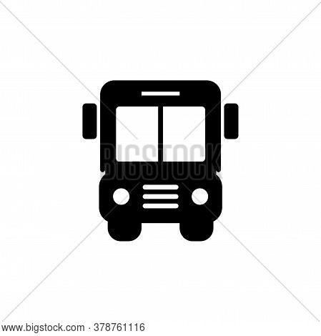 Bus Icon. Simple Sign, Logo. Bus Sign. Transport Image. Public Navigation Symbol For Info Graphics,