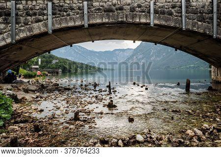 Beautiful Slovenian Landscape - Bohinj Lake. Triglav National Park, Julian Alps, Slovenia