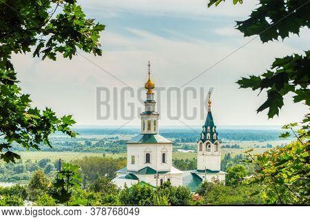 Galician Church Of St. Nicholas The Wonderworker. View Of The Church Of St. Nicholas (nikolskaya) On