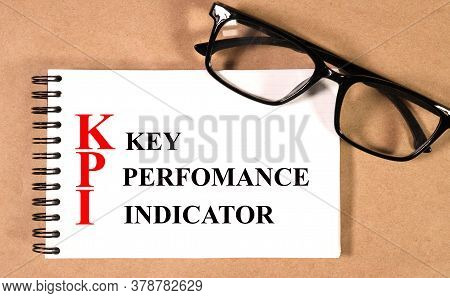 White Paper Sheet With Key Performance Indicators, Kpi.