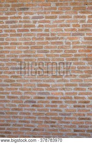 Old Grung Brick Wall Texture For Background