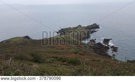 Jerbourg, South Coast Cliffs, St Martins, Guernsey Channel Islands
