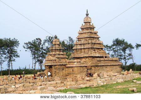 Seashore Temple, Mamallapuram, India