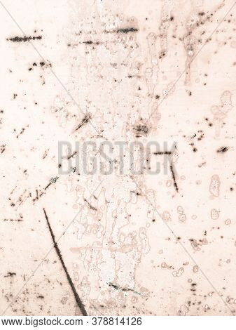 Zinc Metal Texture. Corroded Retro Sea Drawing. Old Marble Drawing. Background Zinc Metal Texture. N