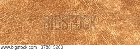Brown Faux Suede Leather For The Concept And Style Idea Of Fine Leather Craft, Handmade Work Space.