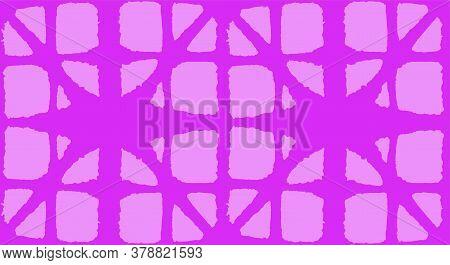 Japanese Tie Dye Seamless Pattern. Bohemian Geometric Asian Tie Dye Pattern. Bohemian Kimono Textile