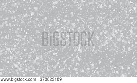Heavy Snowfall, Falling Snow. Winter Holidays Storm Background. Falling Snowflakes, Night Sky. Adver