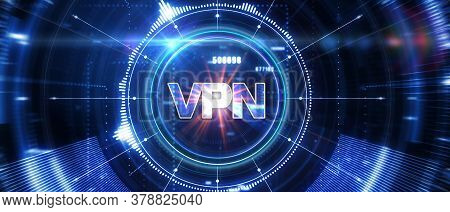 Business, Technology, Internet And Network Concept. Vpn Network Security Internet Privacy Encryption
