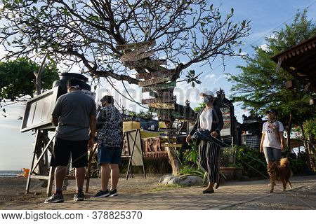 New Normal In Bali, Every Tourist Attraction Is Equipped With Health Protocols, One Of Which Is To P