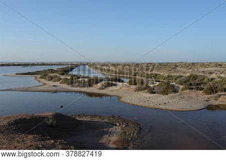 San Pedro Del Pinatar, Spain - September 21, 2018:swampy Area Of Salinas Y Arenales De San Pedro Del