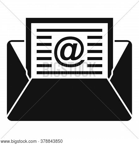 Mail Money Loan Icon. Simple Illustration Of Mail Money Loan Vector Icon For Web Design Isolated On