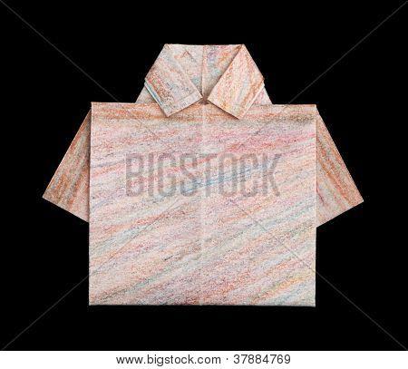 Shirt Folded Origami Style