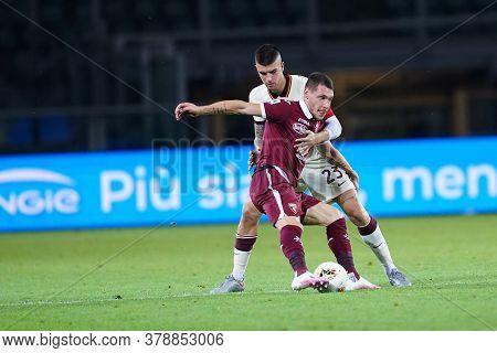 Torino (italy). 29th July 2020. Italian Serie A. Torino Fc Vs As Roma.andrea Belotti Of Torino Fc