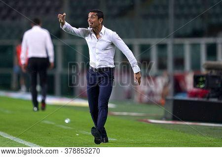 Torino (italy). 29th July 2020. Italian Serie A. Torino Fc Vs As Roma.moreno Longo, Head Coach Of To