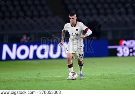 Torino (italy). 29th July 2020. Italian Serie A. Torino Fc Vs As Roma.gianluca Mancini Of  As Roma