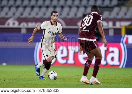 Torino (italy). 29th July 2020. Italian Serie A. Torino Fc Vs As Roma.henrix Hamleti Mkhitaryan Of