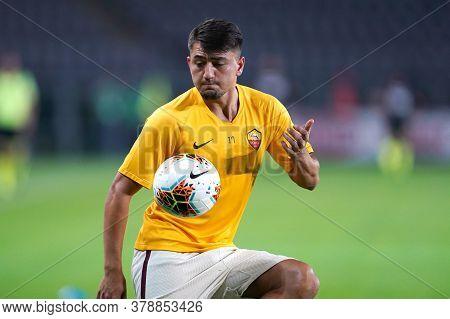 Torino (italy). 29th July 2020. Italian Serie A. Torino Fc Vs As Roma.cengiz Under Of  As Roma  .