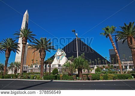 Las Vegas / United States - 05 Jul 2017: The Hotel Casino In Las Vegas, United States