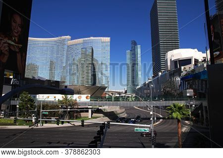 Las Vegas / United States - 05 Jul 2017: The Shop In Las Vegas, United States