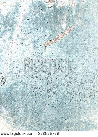 Zinc Metal Texture. Zinc Old Jeans Wall. Rustic Navy Postcard. Background Zinc Metal Texture. Sky St