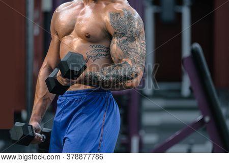Strong Powerful Bodybuilder