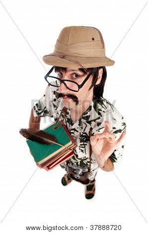 Funny Explorer Or Archeologist