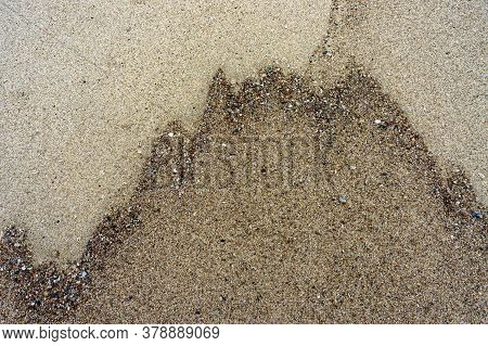 Sea Sand, Sand Background, The Texture Of The Sand