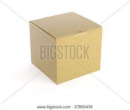 Brown box.