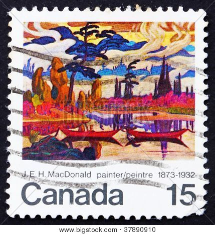 Postage stamp Canada 1973 Mist Fantasy by James E. H.MacDonald