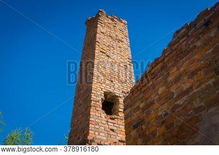 Broken Brick Building