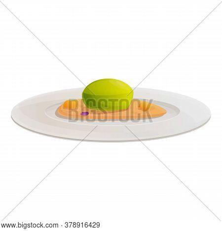 Fresh Molecular Cuisine Icon. Cartoon Of Fresh Molecular Cuisine Vector Icon For Web Design Isolated