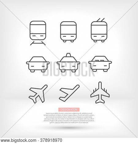 Gift Boxes, Vector Work. Set Icon. Holiday Box