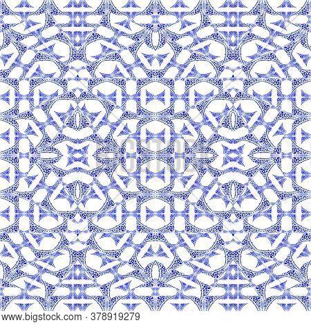Bright Intricate Ornate Seamless Pattern