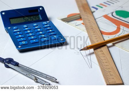 Calculations. Engineering Calculation. Creation Of Drawings. Preliminary Preparation. The Pencil Lie