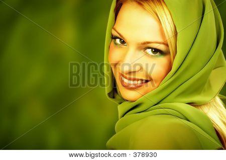 Spa Natural Green Woman.