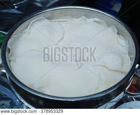 Appam, Palappam,Kallappam,vella appam,parotta,Roti or Chapati a popular traditional Kerala breakfast