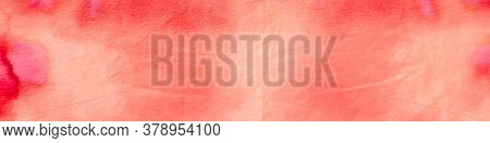 Watercolor Batik Repeat. Oil Ombre Contemporary Texture. Watercolor Batik Repeat Background. Orange