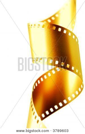Gold 35 Mm Film